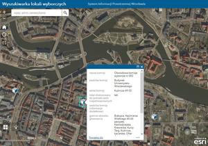 Na wybory z geoportalem Wrocławia