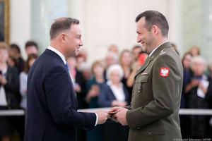 Nominacja profesorska dla płk. Michała Kędzierskiego <br /> Fot. Krzysztof Sitkowski/KPRP