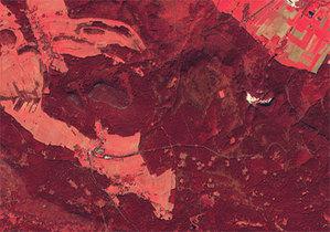 Góry Stołowe pod okiem nowoczesnej teledetekcji <br /> fot.: dane Copernicus/Sentinel