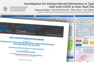 Sukces doktoranta IGiG na konferencji dotyczącej badania deformacji