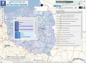 Gminne portale mapowe w Geoportalu