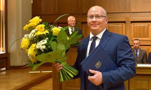 Prof. Krzysztof Wilde rektorem Politechniki Gdańskiej  <br /> fot. PG