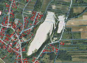 Drugie podejście do modernizacji EGiB w powiecie siemiatyckim <br /> fot. Geoportal.gov.pl