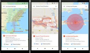 Mapy Google pomogą w sytuacji kryzysowej