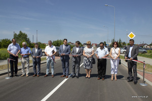 Ulica Geodetów w Łomży oficjalnie otwarta