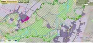 Internetowe mapy roku wybrane <br /> Plany urządzeniowo-rolne w dolnośląskim geoportalu