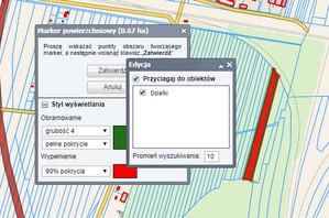 Nowe funkcje w serwisach Geo-Systemu