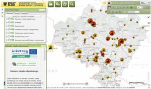 """Geoportal Dolny Śląsk z modułem """"Kataster ciepła odpadowego"""""""