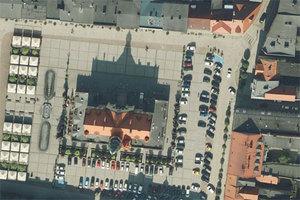 Kolejne ortofotomapy w Geoportalu <br /> Ratusz w Krotoszynie
