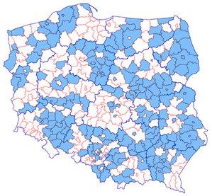 Już połowa powiatów w zbiorczej usłudze KIUT <br /> Stan usługi KIUT na dzień 11 lipca