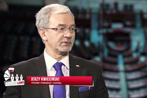 """GUGiK w Warszawie czy Olsztynie? <br /> Minister Jerzy Kwieciński w programie """"Rządowa ława"""""""
