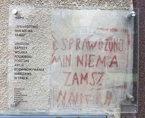 Warszawiacy kartują wojenne rany pamięci <br /> fot. Urząd m.st. Warszawy