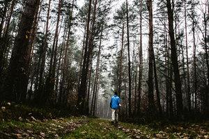 Las strażnikiem pamięci <br /> Las wsi Maliszewa - pole badawcze w latach 2016-2018 (fot. Natalia Zalewska)