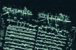 ICEYE: mały radar, który dużo może <br /> Zobrazowanie radarowe w rozdzielczości 0,5 metra pozyskane przez satelitę ICEYE prezentujące terminal kontenerowy w nigeryjskim Port Harcourt