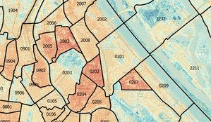 Mapa pomoże walczyć z miejską wyspą ciepła