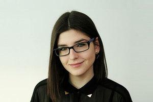 Karina Wilgan z nagrodą EGU <br /> Fot. ze zbiorów K.Wilgan