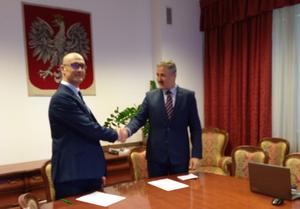 Porozumienie o współpracy GUGiK z PSE <br /> fot. GUGiK