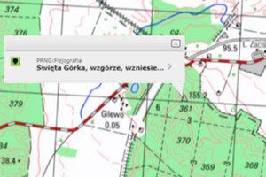 219 zmian na mapie Polski <br /> fot. Geoportal.gov.pl