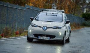 Galileo prowadzi samochód bez kierowcy <br /> fot. GSA