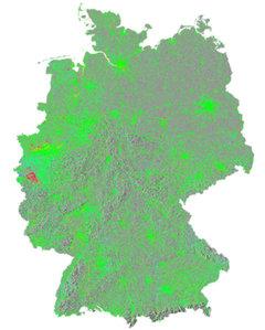 Deformacje w Niemczech pod kontrolą satelitów