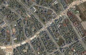 Warszawa publikuje nowy fotoplan <br /> Budowa południowej obwodnicy Warszawy na Ursynowie