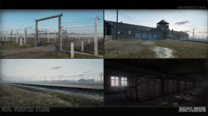 Piekło Auschwitz w wirtualnej rzeczywistości