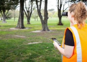 Dalmierz wspiera pomiar GNSS w aplikacji TerraFlex