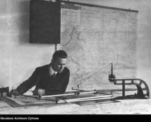 Nowości w archiwum WIG <br /> Mapa Rzeczypospolitej Polskiej i Krajów Ościennych, wydana przez WIG w 1924 roku w skali 1:750 000 (fot. Narodowe Archiwum Cyfrowe)