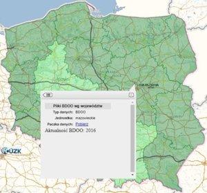 Dane BDOO pobierzesz z Geoportalu. A kiedy aktualizacja bazy? <br /> Pobieranie danych BDOO