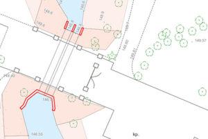 Powiat buski zamawia bazy BDOT500 <br /> Przykładowa wizualizacja BDOT500 (usługa KIOT, Geoportal.gov.pl)