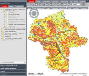 Mazowiecki SIP czeka spora modernizacja <br /> Obecny serwis mapowy Wrota Mazowsza