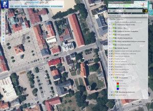 Część woj. łódzkiego na nowych ortofotomapach <br /> Łęczyca