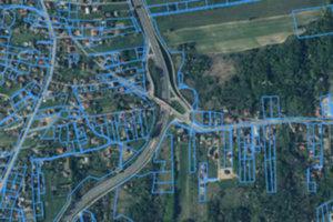 Powiat krakowski sporo dołoży do modernizacji EGiB <br /> fot. Geoportal.gov.pl
