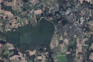5,7 tys. km kw. ortofotomapy w Geoportalu <br /> Nysa i Jezioro Nyskie
