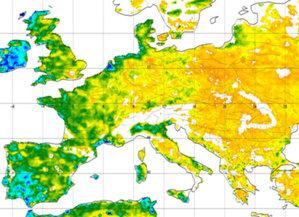 Zastosowanie teledetekcji do lepszego monitorowania suszy <br /> Skutki suszy z 2011 r. widoczne na danych z satelity SMOS