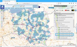 Komunikacja EGiB-PESEL w ponad 150 powiatach <br /> Powiaty korzystające z usługi