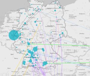 Niemcy kartują wędrówkę koronawirusa