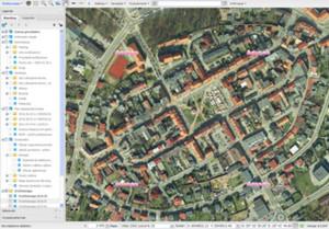 Żory zamawiają dane i opracowania fotogrametryczne <br /> Ortofotomapa w Geoportalu Miasta Żory