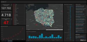 Nowa internetowa mapa koronawirusa w Polsce