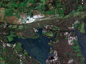 Zdjęcia satelitarne o bardzo wysokiej rozdzielczości w ofercie CloudFerro <br /> Fragment Londynu