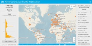 Esri udostępnia oprogramowanie w związku z pandemią koronawirusa