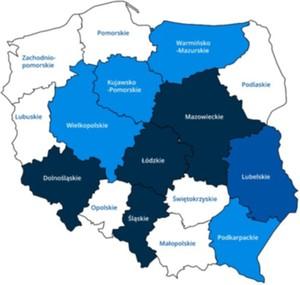 Ministerstwo Zdrowia zmniejsza szczegółowość raportowania o lokalizacji zakażeń koronawirusem <br /> Mapa zakażeń dostępna na portalu Gov.pl