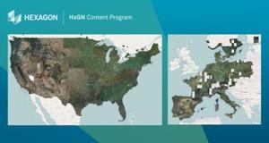 Hexagon udostępnia zobrazowania do walki z koronawirusem. Również dla Polski <br /> Zasięg bazy HxGN Content Program