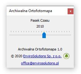Łatwe przeglądanie archiwalnych ortofotomap w QGIS