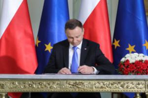 Nowelizacja prawa geodezyjnego z podpisem prezydenta <br /> fot. Kancelaria Prezydenta