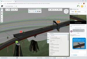 Bentley otwiera dostęp do ProjectWise 365, by ułatwić pracę zdalną <br /> ProjectWise 365 umożliwia tworzenie realistycznego, opartego na przeglądarce środowiska hybrydowego 2D/3D, które pozwala zespołom na usprawnienie koordynacji i szybsze rozwiązywanie problemów