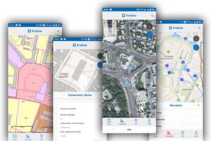 Interaktywna mapa Krakowa już w telefonie