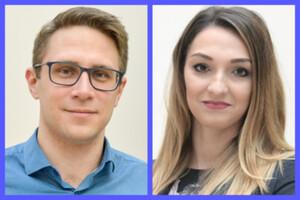 Dwoje geodetów z Wrocławia ze stypendium START <br /> Grzegorz Bury i Kamila Pawłuszek-Filipiak