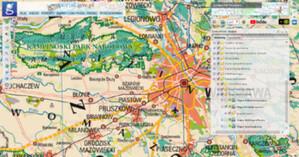 Archiwalne mapy tematyczne w Geoportalu