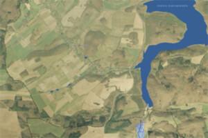 """Będą nowe mapy zagrożenia i ryzyka powodziowego <br /> Fragment MZP """"Dobromierz"""""""